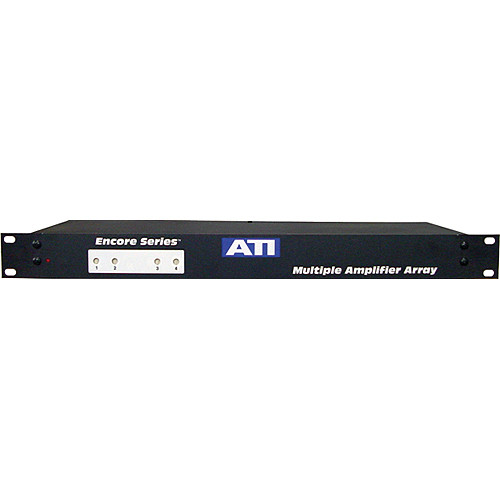 ATI Audio Inc MMA400-1 - 4-Channel Microphone to Line Amplifier/Transformer