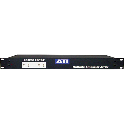 ATI Audio Inc MMA400-1-PH48 - 4-Channel/48VDC  Microphone to Line Amplifier