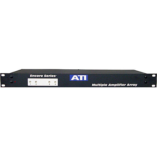 ATI Audio Inc MMA400-2 - 4-Channel Microphone to Line Amplifier/Transformer
