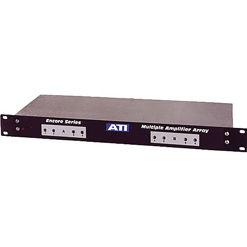 ATI Audio Inc MMA800-1 - 8-Channel Microphone to Line Amplifier/Transformer