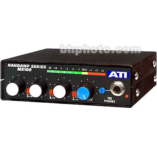 ATI Audio Inc MX-100 Field Audio Mixer