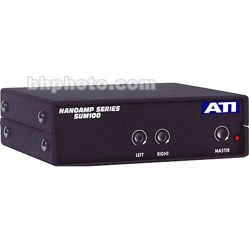 ATI Audio Inc Nanoamp Series SUM100-RCA Stereo to Mono Summing Amplifier