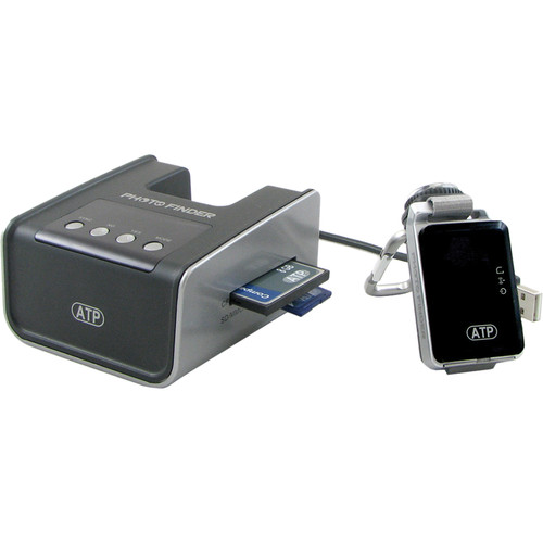 ATP Electronics GPS Photo Finder Mini - Image Tagger With Docking Station