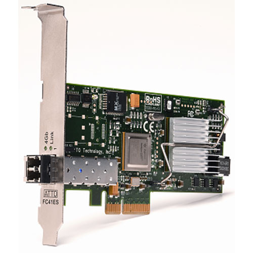 ATTO Technology Celerity FC-41ES 4Gb FC Single-Channel PCI Express Host Adapter