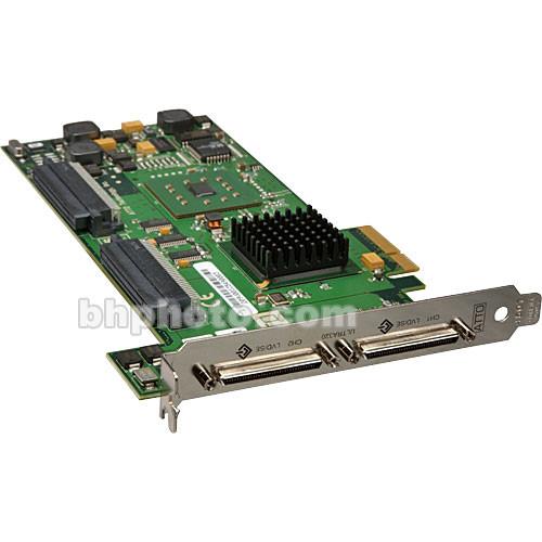 ATTO Technology Express PCI Dual-Channel UL5D SCSI PCI-E Card - Mac/Win