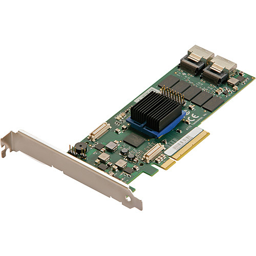 ATTO Technology ExpressSAS R608 8-Port Internal 6 Gb/s SAS/SATA RAID Adapter