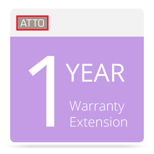 ATTO Technology 1 Year Warranty Extension for ATTO FiberConnect Switches