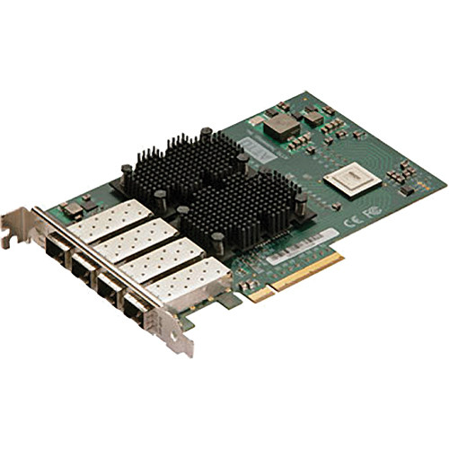 ATTO Technology FastFrame NS14 Quad-Port 10 GbE PCIe 2.0 Network Interface Card