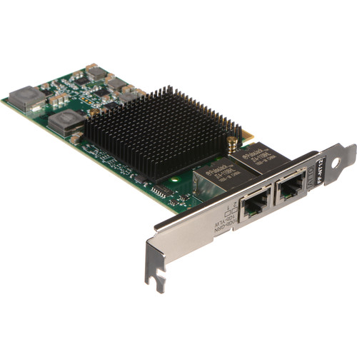 ATTO Technology FastFrame NT12 Dual Port 10GBASE-T PCIe 2.0 Network Adapter