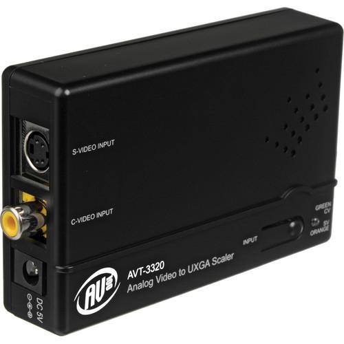 AV Toolbox AVT-3320 Analog Video to UXGA Scaler