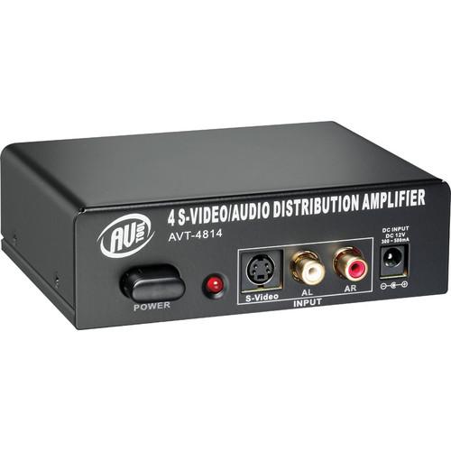AV Toolbox AVT-4814 S-Video & Stereo Distribution Amplifier