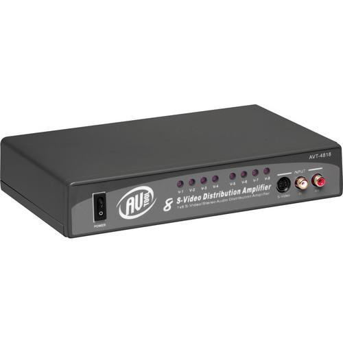 AV Toolbox AVT-4818 1x8 S-Video & Stereo Audio DA