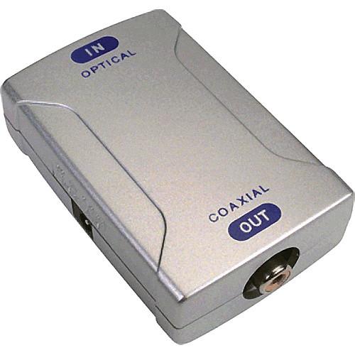 AV Toolbox POF-830 Optical-to-Coaxial Audio Converter