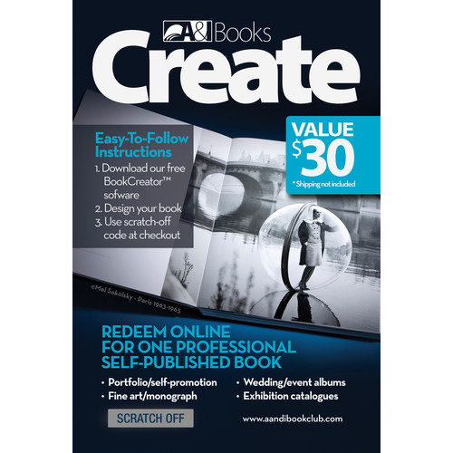 "A&I $30 Pre-Paid Card for an 8 x 8"" Pro Book"