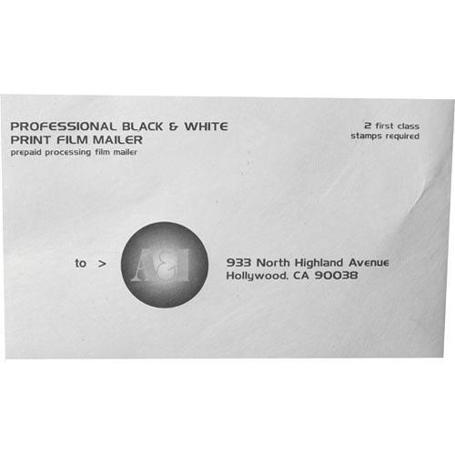 A&I Develop + Prints Mailer for Black & White Film