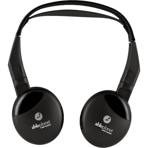 Able Planet On The Ear IR Wireless Headphone