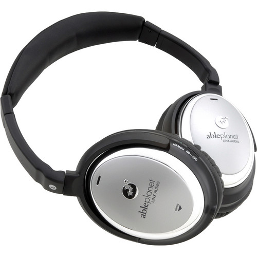 Able Planet NC500SC Sound Clarity Active Noise Canceling Headphones