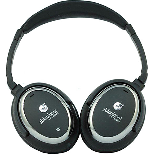 Able Planet NC510B Sound Clarity Active Noise Canceling Headphones