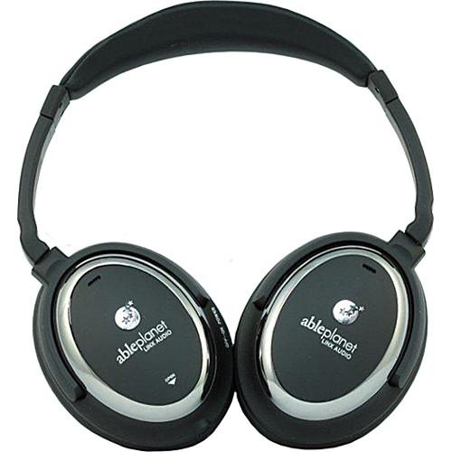 Able Planet NC510B Sound Clarity Active Noise Canceling Headphones