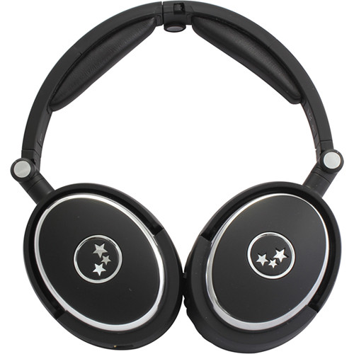 Able Planet True Fidelity NC210 Noise-Canceling Headphones (Black)