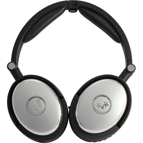 Able Planet True Fidelity NC210 Noise-Canceling Headphones (Silver)