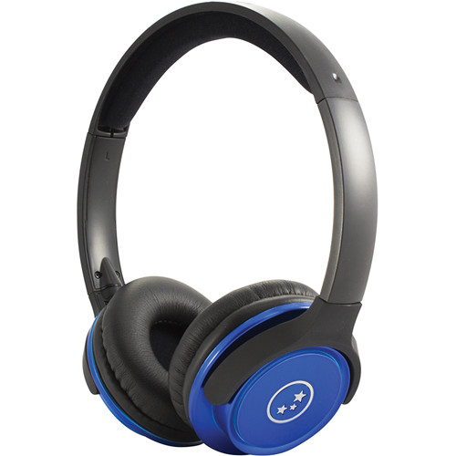 Able Planet Musicians' Choice SH180BMM Stereo Headphones Blue