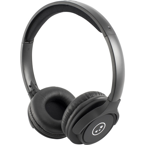 Able Planet Musicians' Choice SH180BMM Stereo Headphones Black