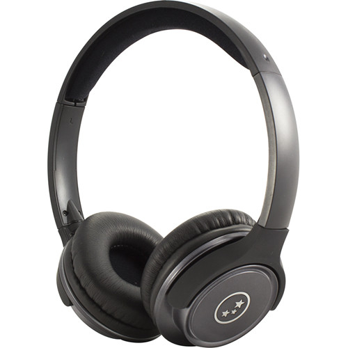 Able Planet Musicians' Choice SH180BMM Stereo Headphones Metal