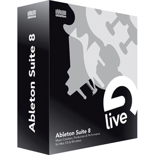 Ableton Ableton Suite 8 - Music Production Suite - (Upgrade for Owners of Live 1 thru 6)