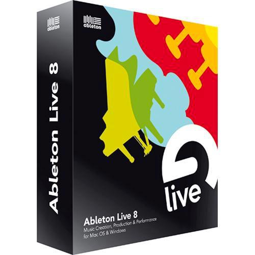Ableton Live 8 - Music Production Software - (Upgrade for Owners of Live LE and Live Intro)