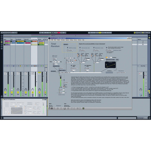 Ableton Max for Live - Device Creation Software (Educational Institution Discount Crossgrade)