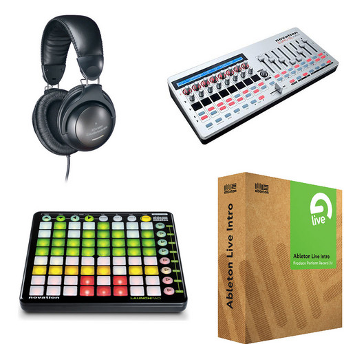 Ableton Ableton + Novation Mashup Remix Kit