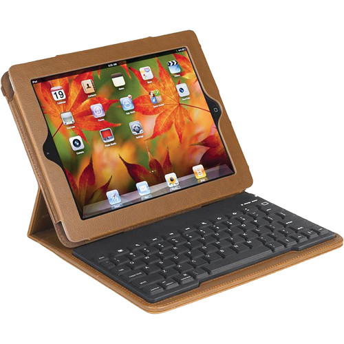 Accessory Workshop TyPad 2 Bluetooth Keyboard Case for iPad (Sienna)