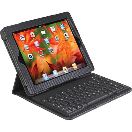 Accessory Workshop TY-108: tyPad: Limited Edition Carbon Fiber Case for iPad, iPad 2 & new iPad (Black)