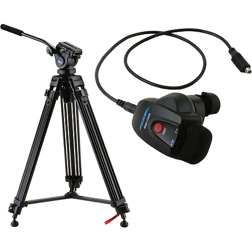 Acebil i-605DX Tripod Package with Sony Lens Zoom Controller