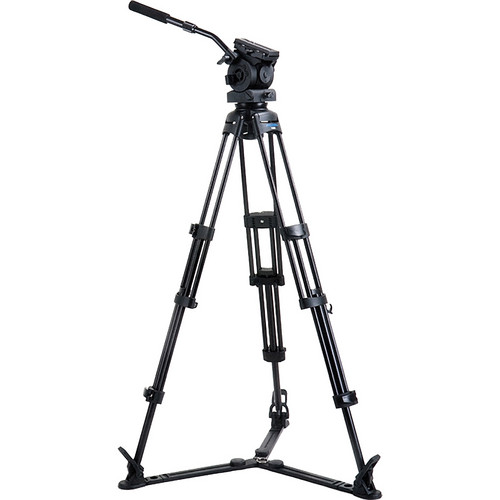 Acebil PE-82GX 3-Section Video Tripod with Ground Spreader & Pan/Tilt Head