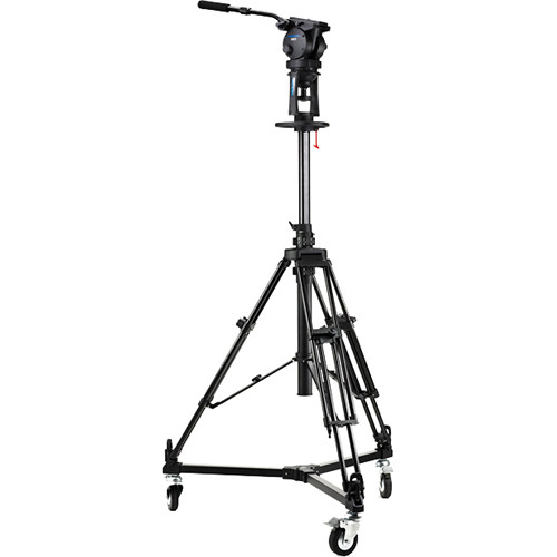Acebil PD1800 Pro Pedestal with H60 Head / D3 Dolly / and Carry Case