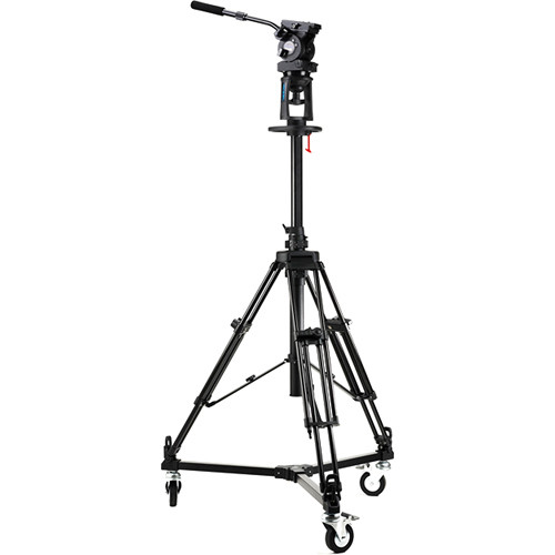 Acebil PD1800 Pro Pedestal with EH-80 Head / D3 Dolly / and Carry Case