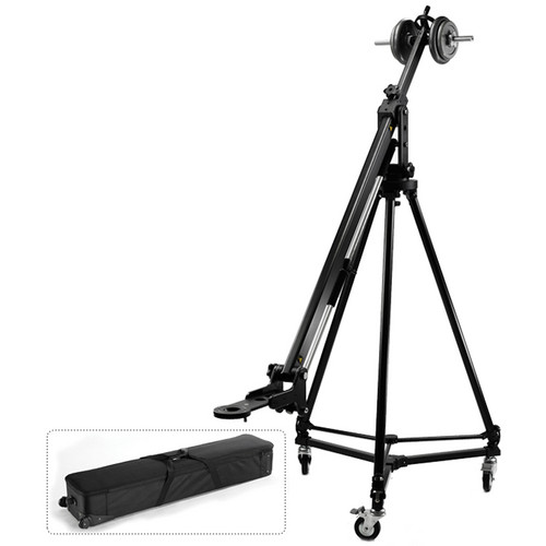 Acebil PRO3300 Jib-Arm with T1200 Tripod / D3 Dolly / and Carrying Case on Wheels