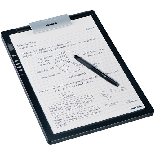 Acecad DigiMemo L2 Digital Notepad with Memory