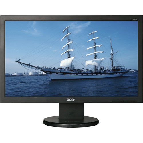 """Acer V203H 20"""" Widescreen LCD Monitor (EPEAT)"""