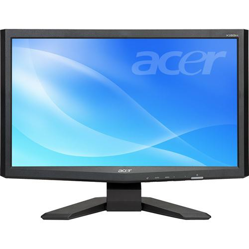 "Acer X183H b 18.5"" Widescreen LCD Computer Display"
