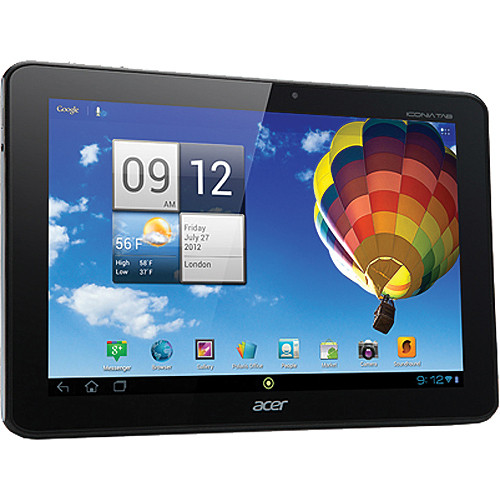 "Acer 32GB Iconia Tab A Series 10.1"" A510-10k32u Tablet (Black)"