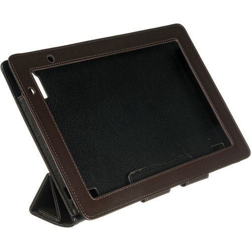 Acer A500 Foldable Leather Case (Brown)