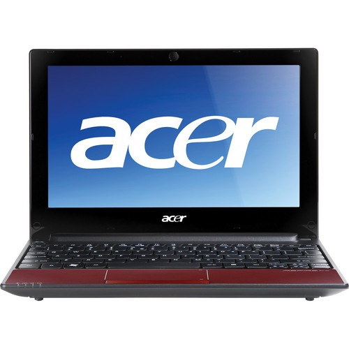 """Acer Aspire One AOD255-2795 10.1"""" Netbook Computer (Ruby Red)"""