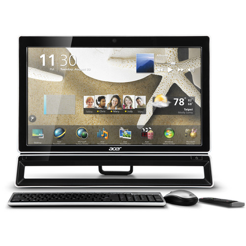"Acer All-in-One Z5 AZ5771-UR31P 23"" Touch Screen Desktop Computer"