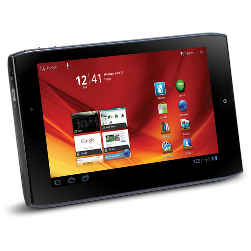 """Acer 8GB Iconia Tab A100 VanGogh 7"""" Multi-Touch Tablet PC (Steel Blue)"""