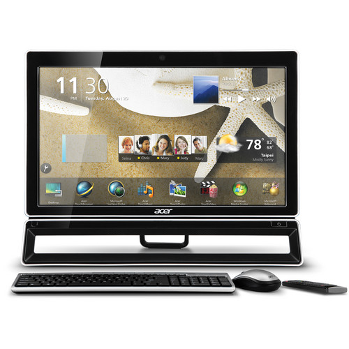 "Acer All-in-One AZ5771-UR21P 23"" Touch Screen Desktop Computer"