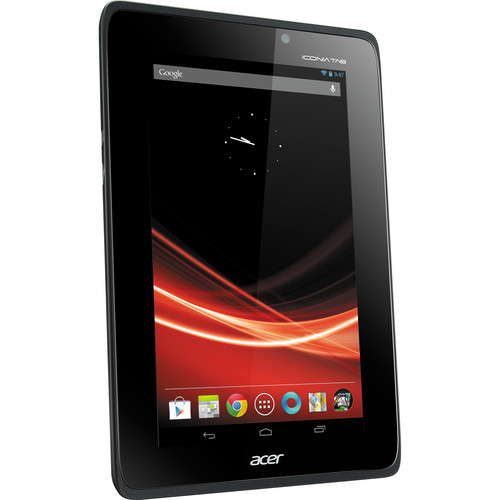 "Acer 8GB Iconia Tab A Series A110-07g08u 7"" Tablet (Gray)"