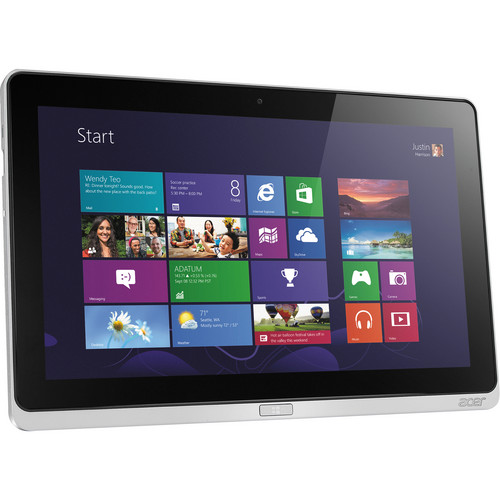 "Acer 64GB Iconia W700 11.6"" Tablet (Silver)"